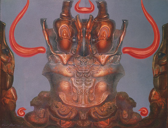 cherub-en-face-with-orange-colored-horns-of-flames-1969
