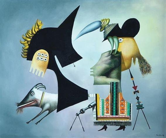 Surrealist Figures, 1979