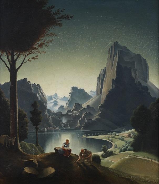 landscape-with-painter-1926