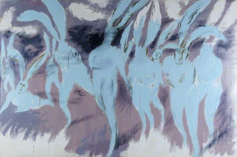 Holosiy, Oleg, 1965-1993; Psychedelic Attack of the Blue Rabbits