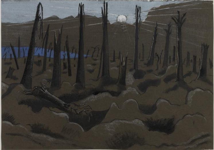Sunrise, Inverness Copse (1918)