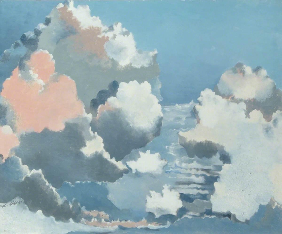 Nash, Paul, 1889-1946; Cloudscape