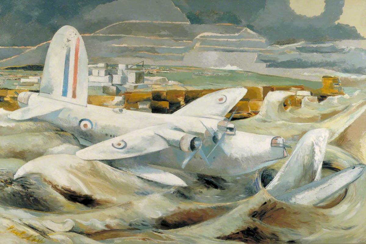 Nash, Paul, 1889-1946; Defence of Albion