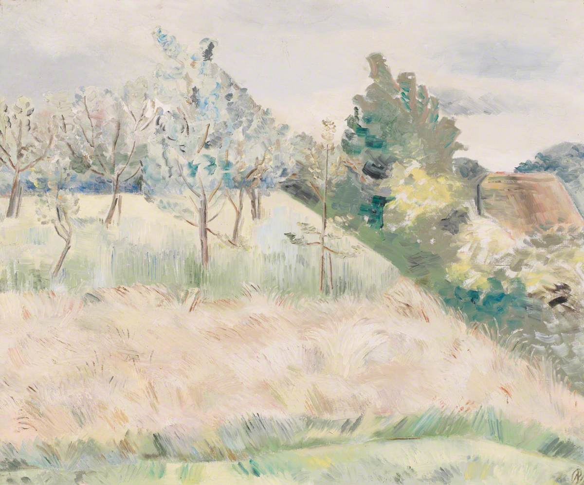 Nash, Paul, 1889-1946; Landscape