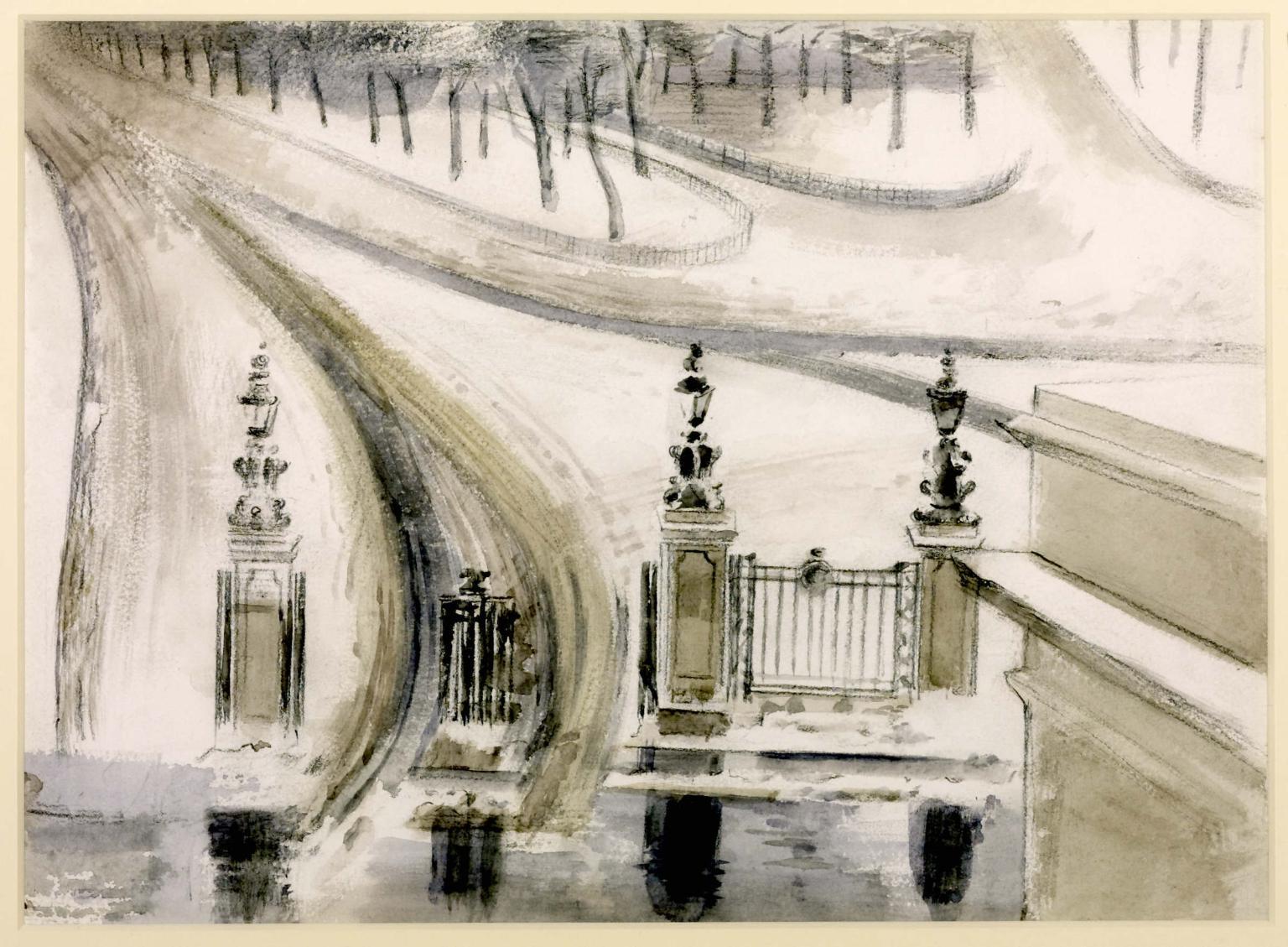 London: Winter Scene, No. 2 1940 by Paul Nash 1889-1946