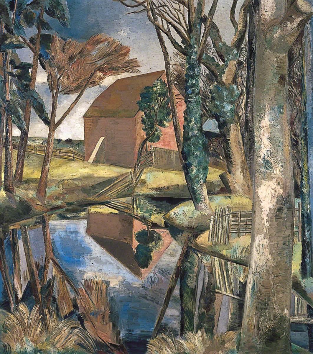 Nash, Paul, 1889-1946; Oxenbridge Pond