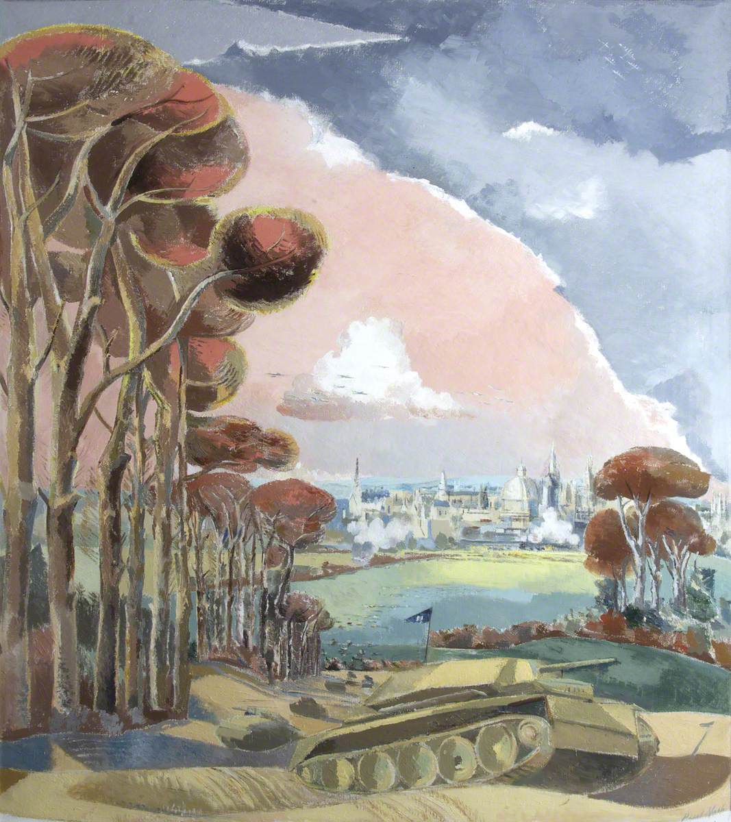 Nash, Paul, 1889-1946; Oxford During the War