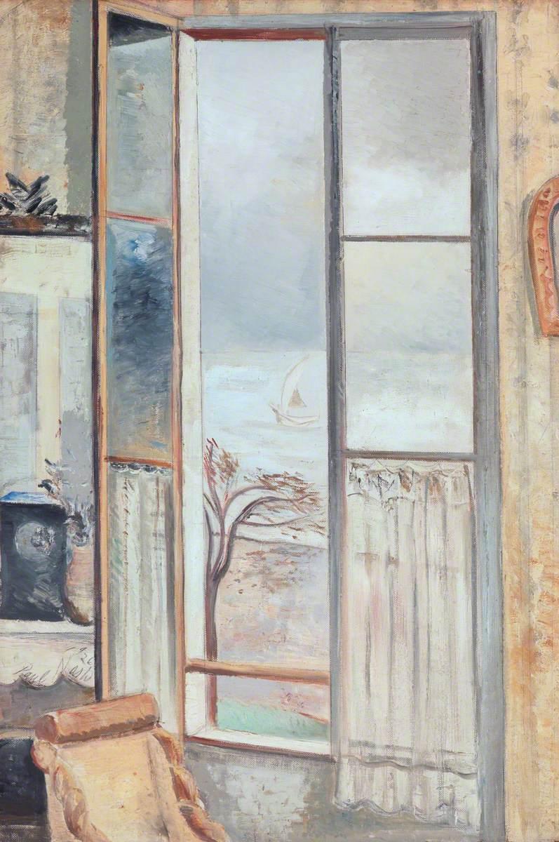 Nash, Paul, 1889-1946; Riviera Window, Cros-de-Cagnes