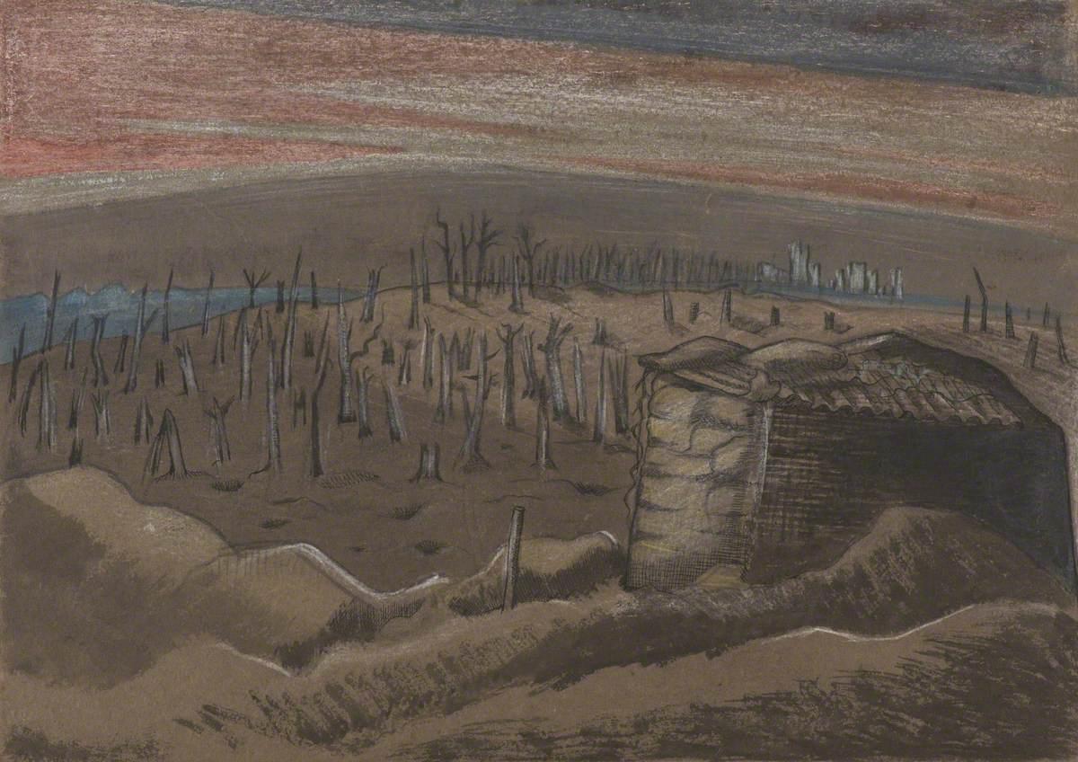 Nash, Paul, 1889-1946; Sanctuary Wood