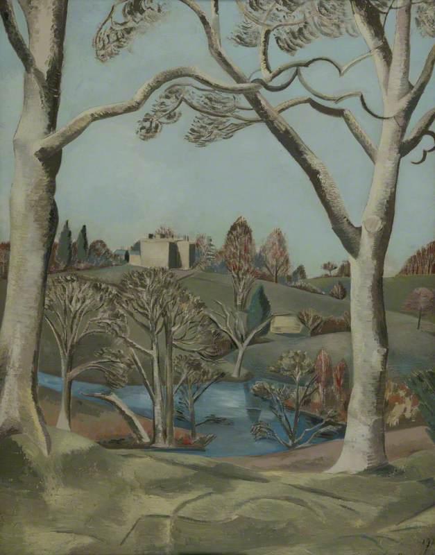 Nash, Paul, 1889-1946; Sandling Park, Kent