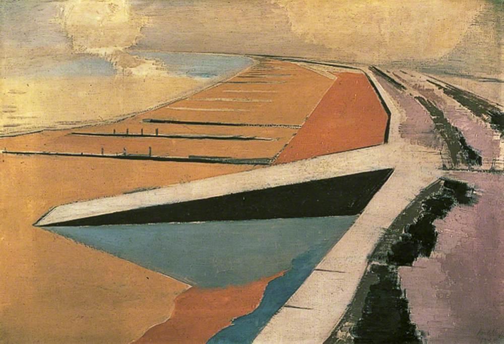 Nash, Paul, 1889-1946; The Shore